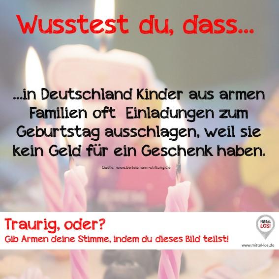 Sprich LOS! gegen Kinderarmut in Deutschland