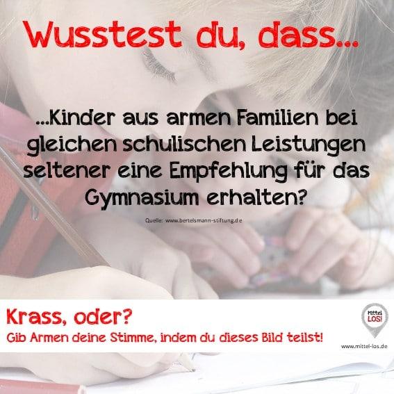Sprich LOS! gegen Bildungsarmut in Deutschland